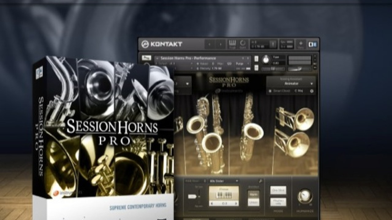 Download Native Instruments Session Horns Pro