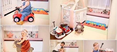 【育兒】為女兒打造的夢幻嬰幼童遊戲嬰兒房♥