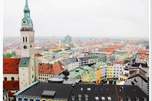 【愛戀在德國】跟著梅子散步在瑪莉恩廣場Marienplatz((慕尼黑新市政廳))♥