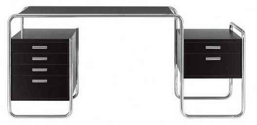 Furniture-Minimalist-S-285-Desk-by-Marcel-Breuer