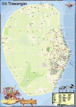 Peta Gili Trawangan Preview