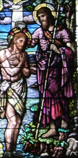Detail from Baptism ...(1927)