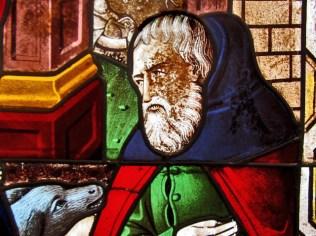 Joseph, detail from The Nativity ca. 1460-80 France