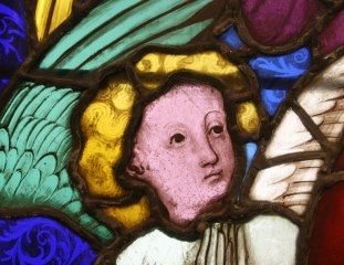Angel, detail from God the Father