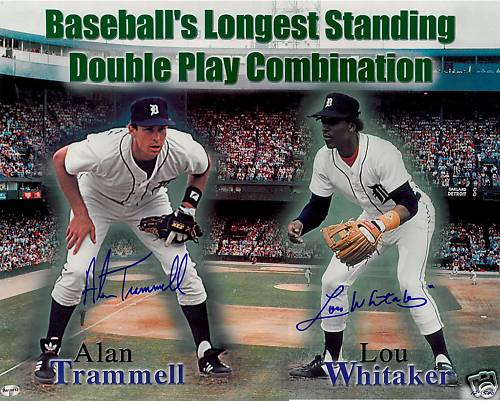 Alan Trammell Collection 30 Year Old Cardboard