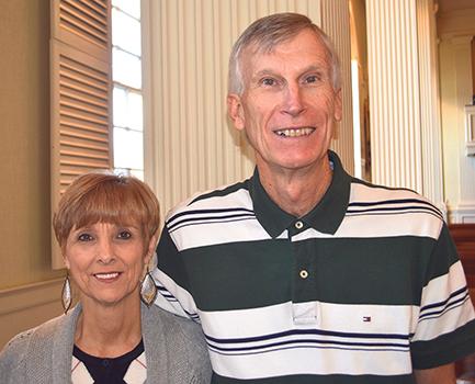 Vickie and Mike Rushton