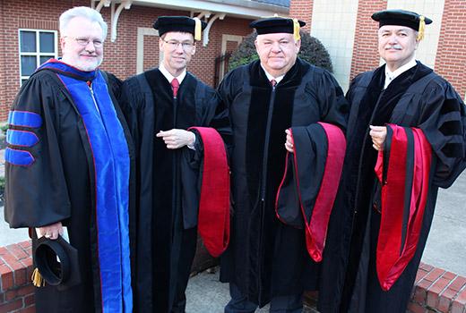 NGU doctoral graduates
