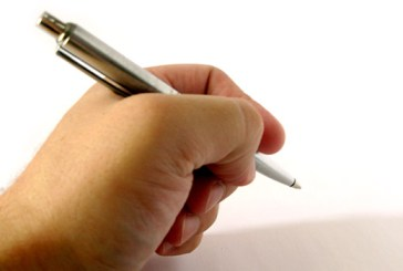 hand-and-pen