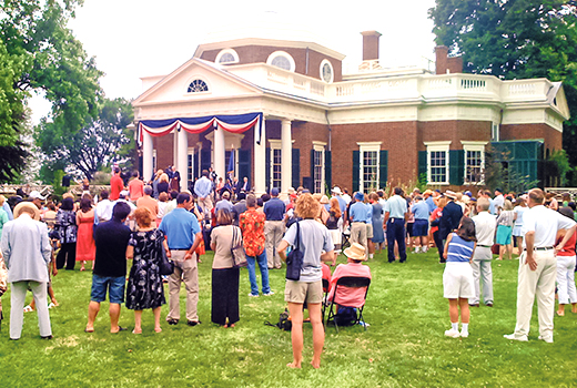 July 4 Monticello naturalization ceremony