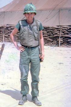 Gary Watson in Vietnam