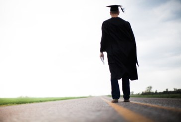 Graduate-walking