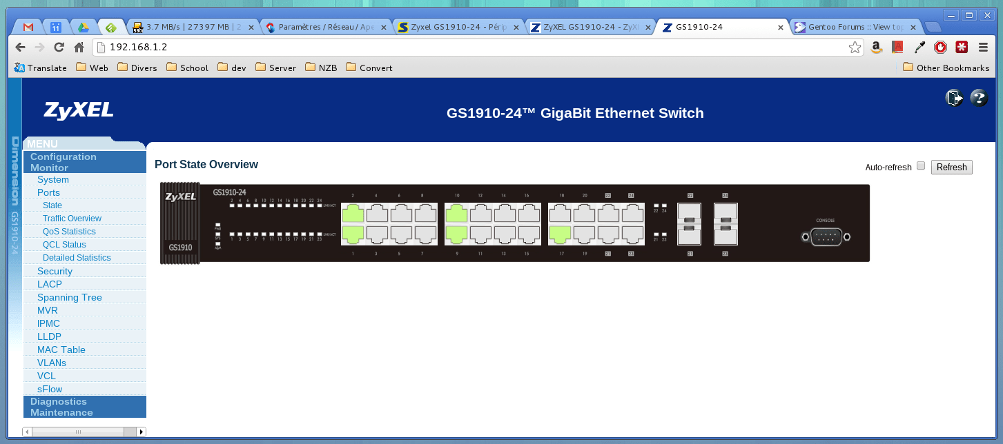 ZyXEL GS1910 24 Managed Gigabit Switch Review Blog Blog