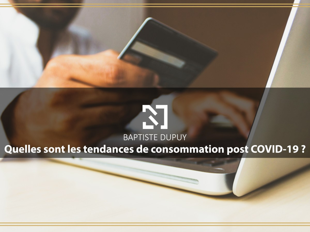 Article Baptiste DUPUY Consommation Covid19
