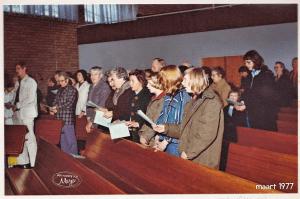 Interieur baptistenkerk