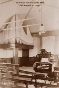 interieur van de alleroudste baptisten kerk in Nederland