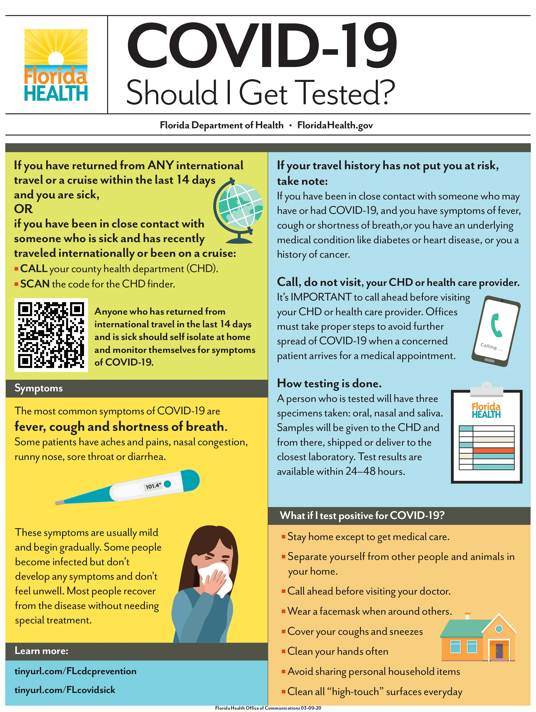 COVID-19: What Health Officials Say About Getting Tested (Infographic)