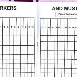 Factories Act 1948 Forms and Registers like Register of