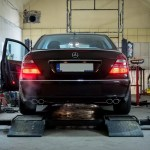 Mercedes W211 E500 Exhaust System