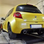 Renault Clio III RS – Baq Exhaust