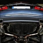 Mercedes C207 E500   Baq Exhaust