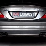 Mercedes CLS63 AMG   Baq Exhaust