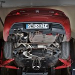 Peugeot 407 Coupe | Baq Exhaust