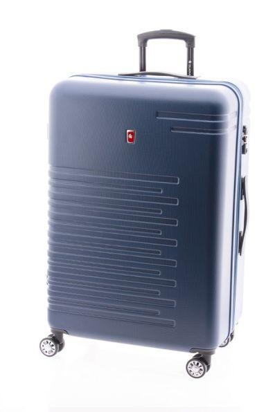 maleta de viaje grande cactus de gladiator azul marino