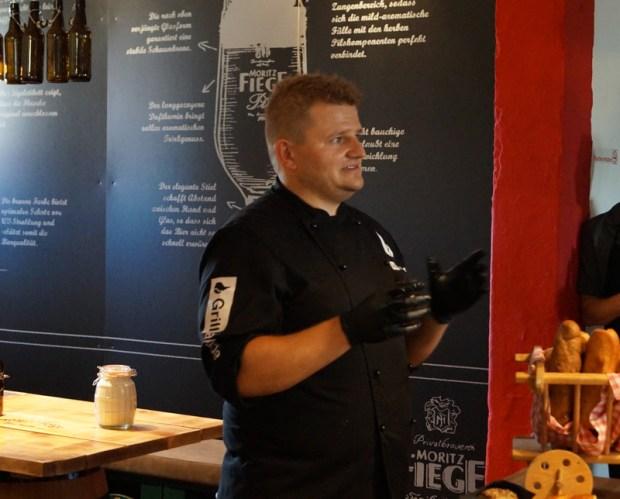 Unser Grillmeister Markus