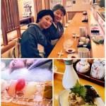 今日は母と親娘お揃いで『おめかし』して、武蔵さんで熱燗を頂きながらのランチ(≧∇≦)