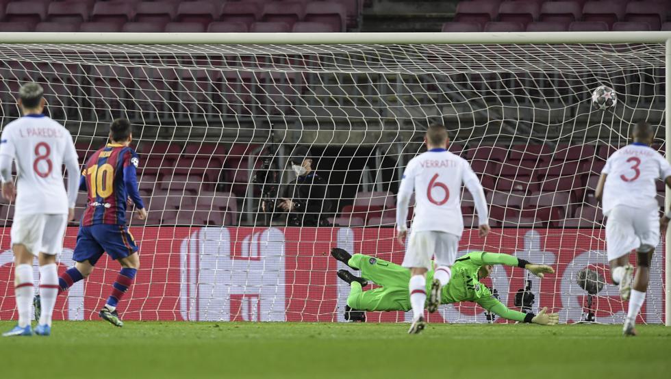 今季UCLでプレーの流れの中でのゴールが無いエースメッシ
