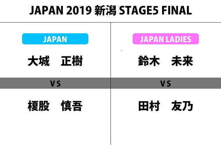 JAPAN 2019 STAGE5 新潟 決勝 大会結果・考察