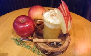 【人気の新メニュー】りんごのホットカクテル~アップルパイ風~長野県産「シナノスイート」使用