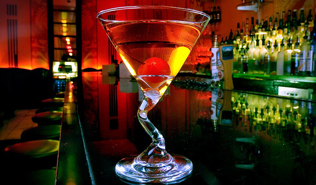 The Rob Roy at the Cruise Room in Denver. (Photo by Andy Rogers)
