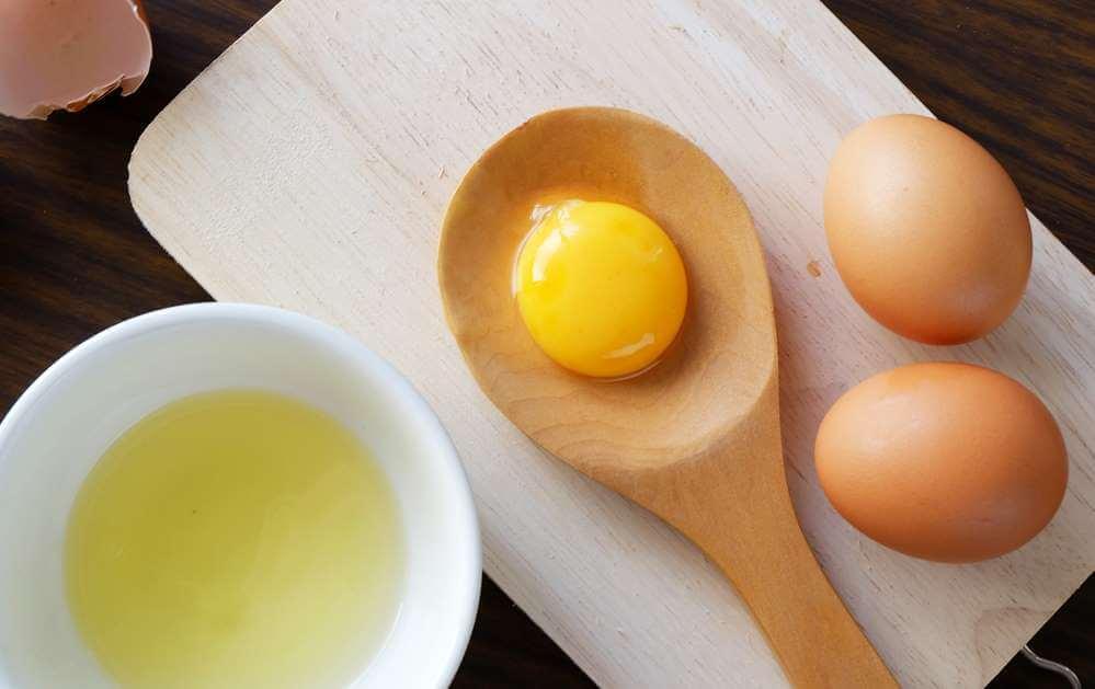 قناع حليب البيض