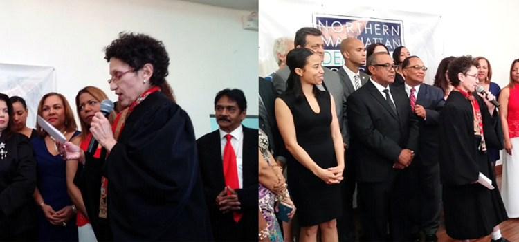 Jaime Vargas asume club político demócratas