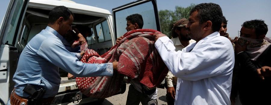 Bombardean hotel; decenas de muertos