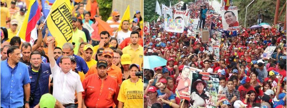 Inician campaña para gobernadores Venezuela