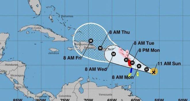 Huracán María es amenaza seria para región