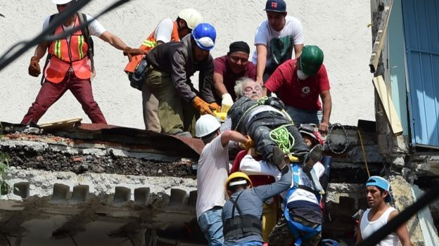 Otro terremoto enlutece México