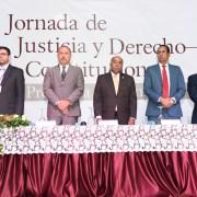 TC realiza jornada justicia y derecho