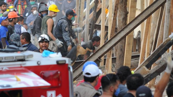 Por sismo 25 niños muertos en escuela