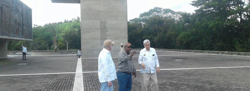 Ministro Cultura visita sitios históricos