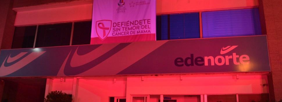 Edenorte respalda campaña cáncer mama