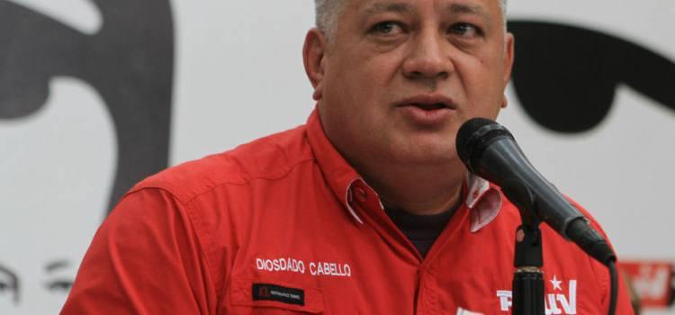 Diosdado prevé guerra irregular en Venezuela