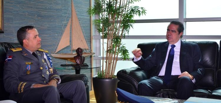Director PN visita ministro Turismo