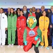 Presentan uniformes y campaña Juegos Nacionales