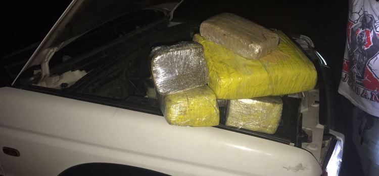 Confiscan 100 libras de marihuana