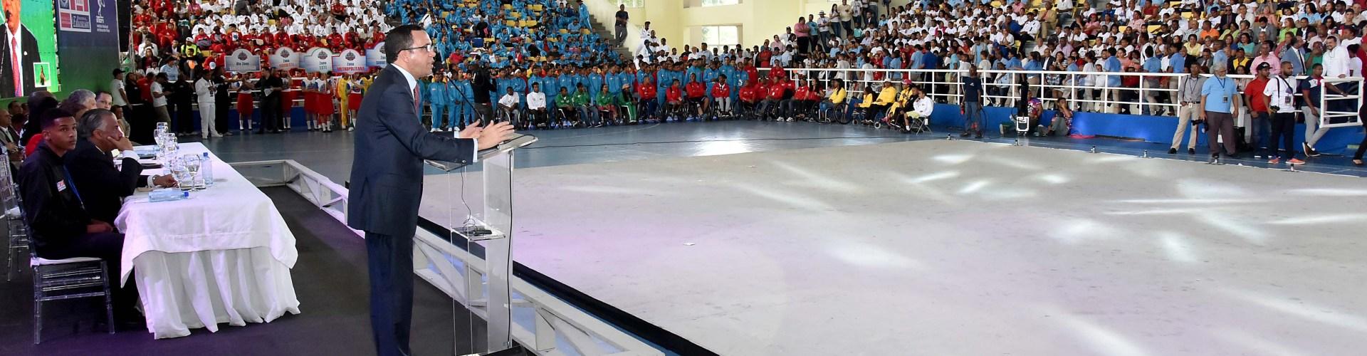 Inauguran Juegos Deportivos Escolares