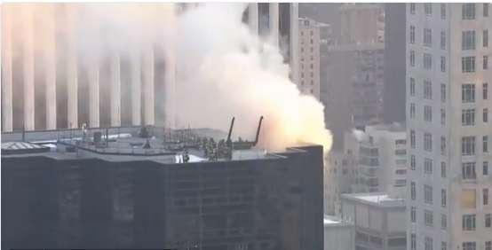 Incendio afecta la Torre Trump