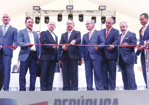 Danilo inaugura Parque Central Santiago
